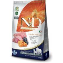 N&D Dog Grain Free bárány&áfonya sütőtökkel adult medium/maxi 12kg kutyatáp