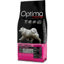 Optimanova Puppy Sensitive Salmon & Potato 0,8 kg