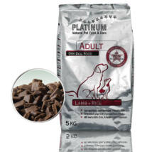 Platinum Natural Adult Lamb &Rice 2x5kg