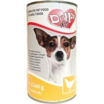 Dolly Dog Konzerv Baromfi 1240g kutyatáp