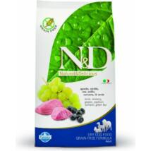 N&D Grain Free bárány&áfonya adult mini 7kg