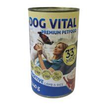 Dog Vital konzerv sensitive lamb&rice 1240gr