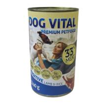 Dog Vital konzerv sensitive lamb&rice 1240gr