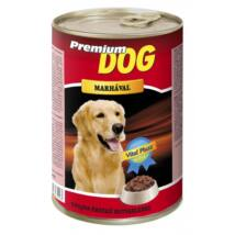 Prémium Dog Konzerv Marhás 1240g kutyatáp