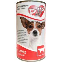 Dolly Dog Konzerv Marha 1240g kutyatáp