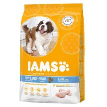 Iams Dog Puppy Large 12kg kutyatáp