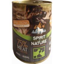 Spirit of Nature Dog konzerv Bárányhússal és nyúlhússal 800gr kutyatáp