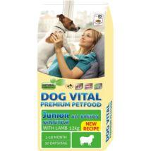 Dog Vital Junior Sensitive All Breeds Lamb  12kg kutyatáp
