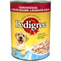 Pedigree Konzerv Junior Csirke 400g kutyatáp
