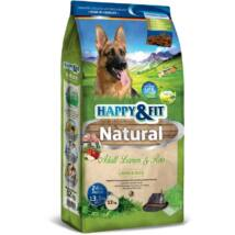 Happy&Fit Natural Adult Lamm&Reis 12kg kutyatáp