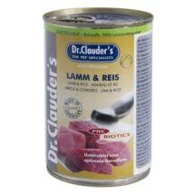 Dr.Clauders Dog Konzerv Selected Meat Bárány&rizs 400g