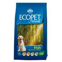 Ecopet Natural Fish 2,5kg kutyatáp