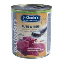 DrClauders Dog Konzerv Selected Meat Pulyka&rizs 800g