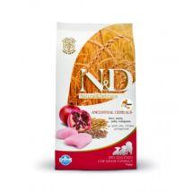 N&D Low Grain Dog Csirke&gránátalma puppy maxi 12kg kutyatáp