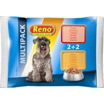 Reno Alutasakos Kutyaeledel 4x100g Multipack MarhaPulyka kutyatáp