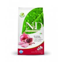 N&D Grain Free csirke&gránátalma adult medium 2,5kg kutyatáp