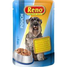 Reno Alutasakos Kutyaeledel PulykaKacsa 100g kutyatáp