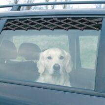 Trixie Szellőzőrács Autóba Fekete 24–70cm