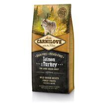 CarniLove Adult Large Lazac&Pulyka 12kg kutyatáp