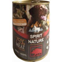 Spirit of Nature Dog konzerv Vaddisznóhússal 800gr kutyatáp