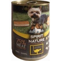 Spirit of Nature Dog konzerv Strucchússal 415gr kutyatáp