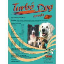 Turbó Dog Száraz Kutyaeledel Sonkás 10kg kutyatáp