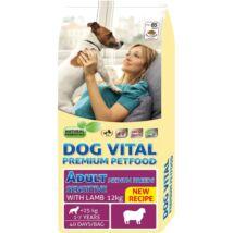 Dog Vital Adult Sensitive Medium Breeds Lamb 12kg kutyatáp