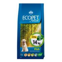 Ecopet Natural Fish Medium 14kg kutyatáp
