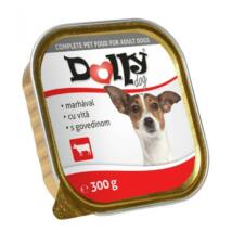 Dolly Dog Alutálka Marhás 300gr kutyatáp