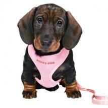 Trixie Kölyökszett Hámmal Rózsaszín 26-34cm/2m/10mm