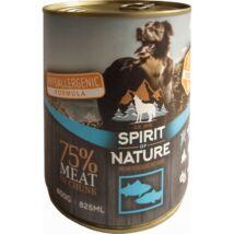 Spirit of Nature Dog konzerv Tonhallal és lazaccal 800gr kutyatáp