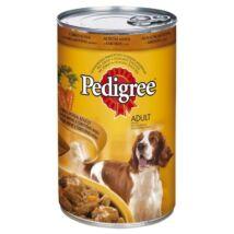 Pedigree Konzerv CsirkeSárgarépa 400g kutyatáp