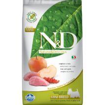 N&D Grain Free vaddisznó&alma adult mini 800g kutyatáp