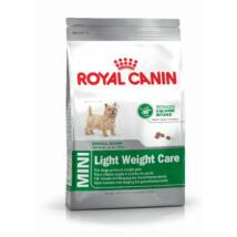 Royal Canin MINI LIGHT WEIGHT CARE 0,8 kg kutyatáp
