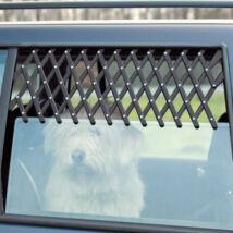 Trixie Szellőzőrács Autóba Fekete 30-110cm