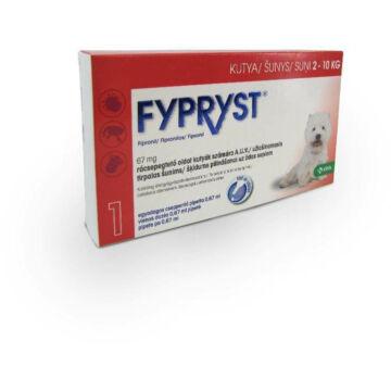FYPRYST Spot On S 2-10kg-os Kutyáknak 0.67ml 1x