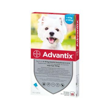 Advantix spot on 1 ml 4-10 kg 1X