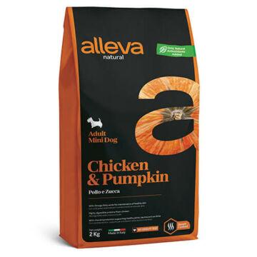 Alleva Natural Adult Mini Chicken & Pumpkin 2 kg