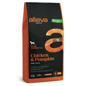 Alleva Natural Puppy Medium Chicken & Pumpkin