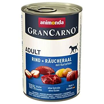 Animonda GranCarno Adult (füstölt angolna + burgonya) 400g