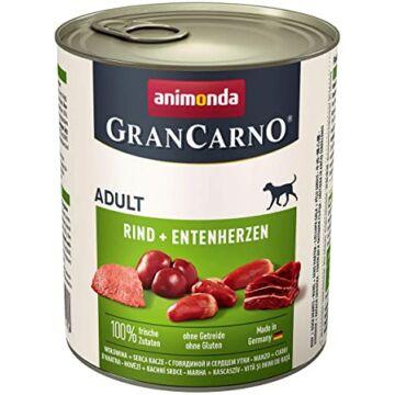 Animonda GranCarno Adult (marha + kacsaszív) konzerv 400g