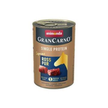 Animonda GranCarno Adult (single protein) konzerv lóhússal 400g