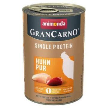 Animonda GranCarno Adult (single protein) csirke konzerv 400g