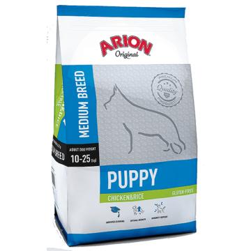 ARION ORIGINAL Puppy Medium Chicken&Rice 12kg
