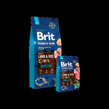 Brit Premium by Nature Sensitive Lamb Rice 3 kg