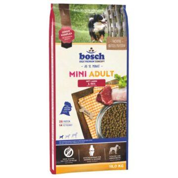 bosch mini adult lamb rice