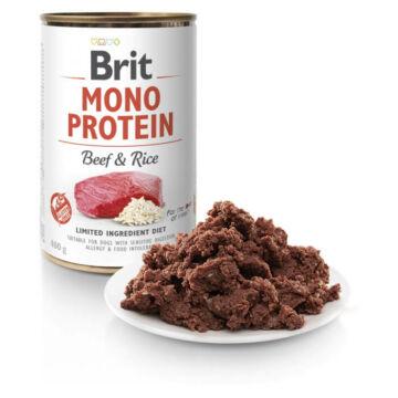 Brit Mono Protein Beef & Rice konzerv 400g