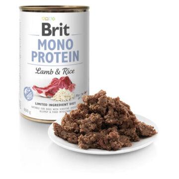 Brit Mono Protein Lamb & Rice konzerv 400g