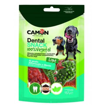 Camon Dental Snack 100% Vegetal Light BBQ és Menta ízű 157g