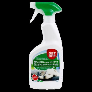 GET OFF Macska- és kutyariasztó és távoltartó spray, 500 ml